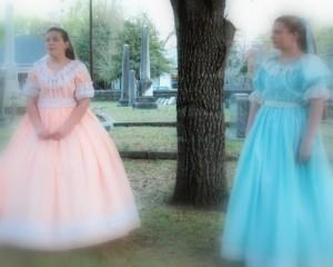 Cemetery Tour Girls